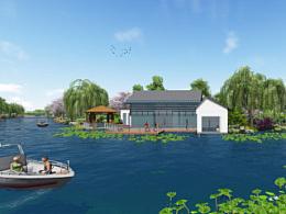 园林景观方案设计TOP2(张家港大新国泰北路东侧滨河景观设计方案)
