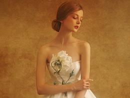 反向生长的花|青春女神|望设计兰奕2016婚纱作品