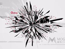 【魔格】跟随音乐做图形矩阵变化Opening Title(网易游戏海外分享会动态标题设计)