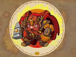 魔兽人物 第四波  人类联盟