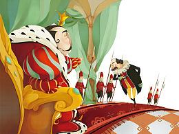 童话绘本——国王新装部分内页图