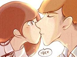 【更新完结】原创漫画《学姐早上好》36~47话完结+超甜番外~!