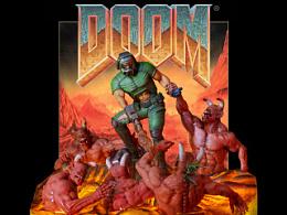 《DOOM》游戏插画立体化场景 First 4 Figures 品牌产品打样