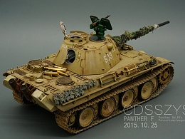 二战德国陆军 五号坦克 豹式 F型
