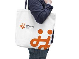 HOLD驾 标志设计