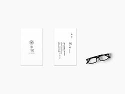 Mc garden 米兮花店的日系标志logo设计
