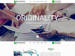 企业官网,一屏,首页