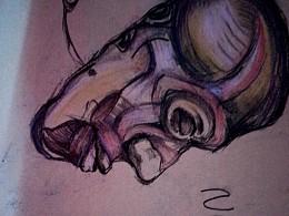叹息的人皮面具