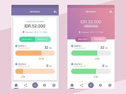 UI界面设计 APP界面设计 暗色系 紫色系 高端界面设计