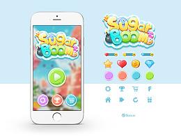 《Sugar boom》原创游戏界面