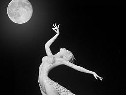 海龙原创作品民俗舞蹈系列《孔雀舞之公主邀月》