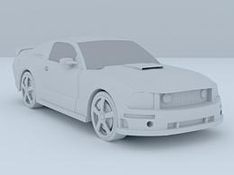 初次建模的第一辆汽车