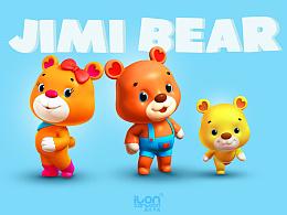 吉米熊(Jimi bear)