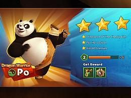功夫熊猫4-游戏UI设计