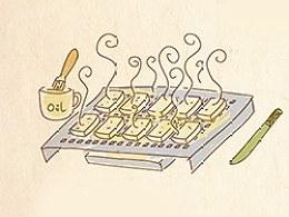 手绘食谱《豆腐果》