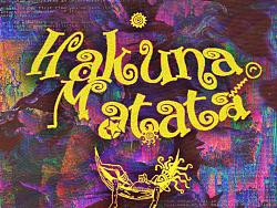 《hakuna matata》迷幻歌曲封面/