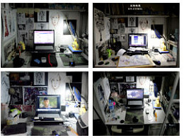 大学中我墙面和桌面上的细微变化~