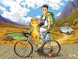 《带上橘猫去旅行》