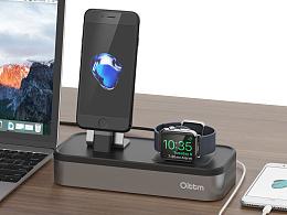 apple watch/iphone 桌面充电站设计