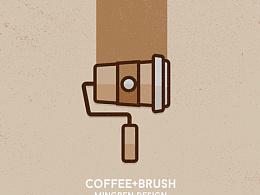 Day32- 每日设计 咖啡滚刷