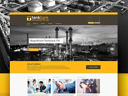 Tankbank international website design