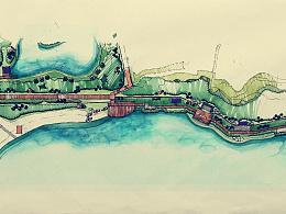 【洪权景观设计作品丨阳宗海•沙滩景观改造设计方案 】