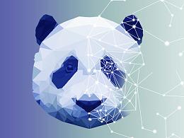 科技感熊猫