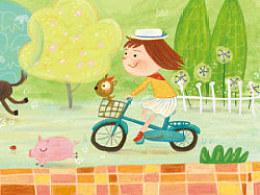 一边骑车周游世界·一边画画纪录下他·这是我的小梦想