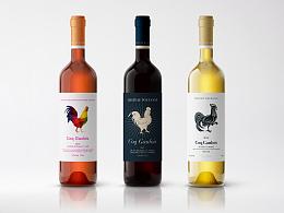 Coq Gaulois 红酒包装设计