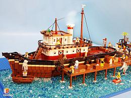"Cheryl Ann Tugboat ""谢丽尔安""号美式复古拖船"