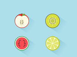 扁平水果图标