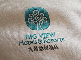 原创作品:【整理·已商用】今年的标志设计 - 大景意树酒店