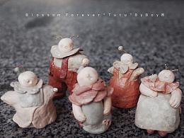 Blossom Forever的系列创作-插画/粘土/周边/展览