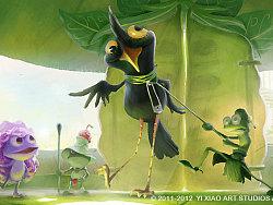 3D动画电影《青蛙王国1》场景及ColorScript