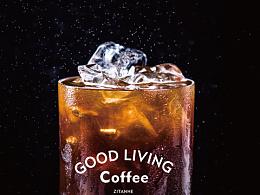 Luckin coffee橘金/黑金美式气泡