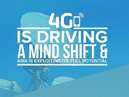 Bridge Alliance 4G is driving a mind shift 信息图