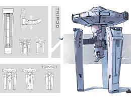 tripod-可移动指挥部