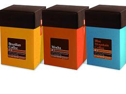 后谷咖啡----星空系列礼盒设计