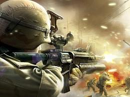 Battlefield online 战地海报