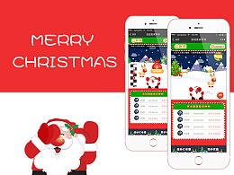 微团购——圣诞节活动 手机端小游戏页面H5