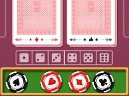 桌面卡牌游戏ui练习