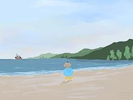 木木的深圳记忆--第一次看海