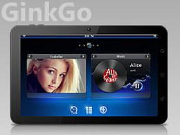 平板界面概念设计--Ginkgo