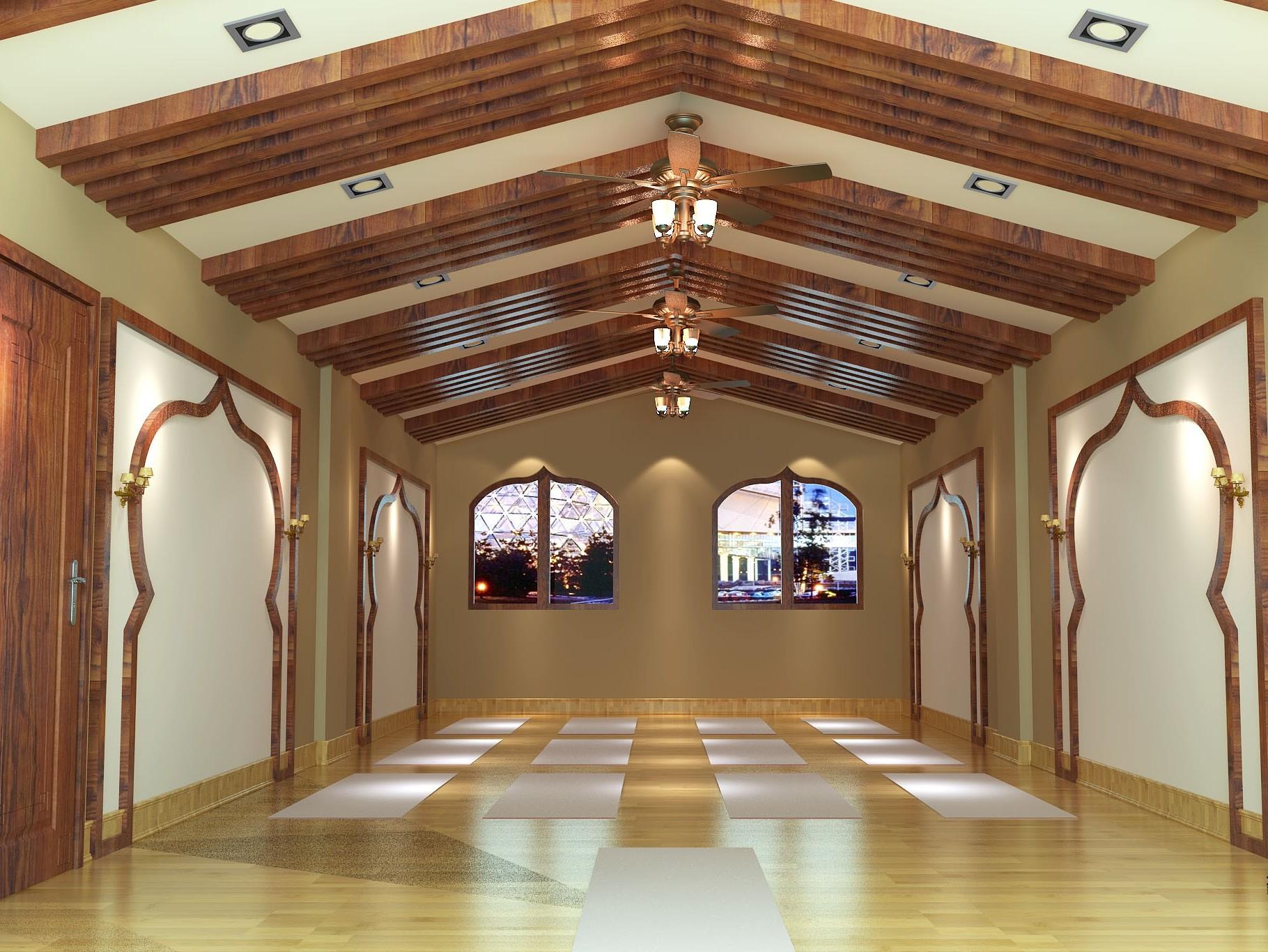 印度风瑜伽会馆-成都瑜伽馆装修,成都瑜伽馆设计,成都瑜伽馆装修设计