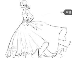 有节奏的裙子