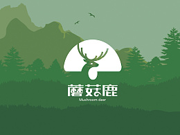蘑菇鹿户外>标志设计