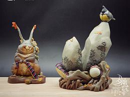 """鴉之巢《月-魔-長-老-會》蠻山雀""""寶寶""""誕生記"""