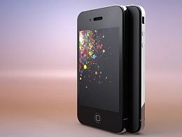 iPhone4 手机建模 【C4D建模渲染交作业】