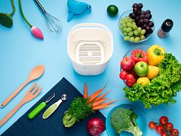 小荷 超声波蔬果清洗机