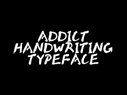大猫|Addict  Handwriting tapyface